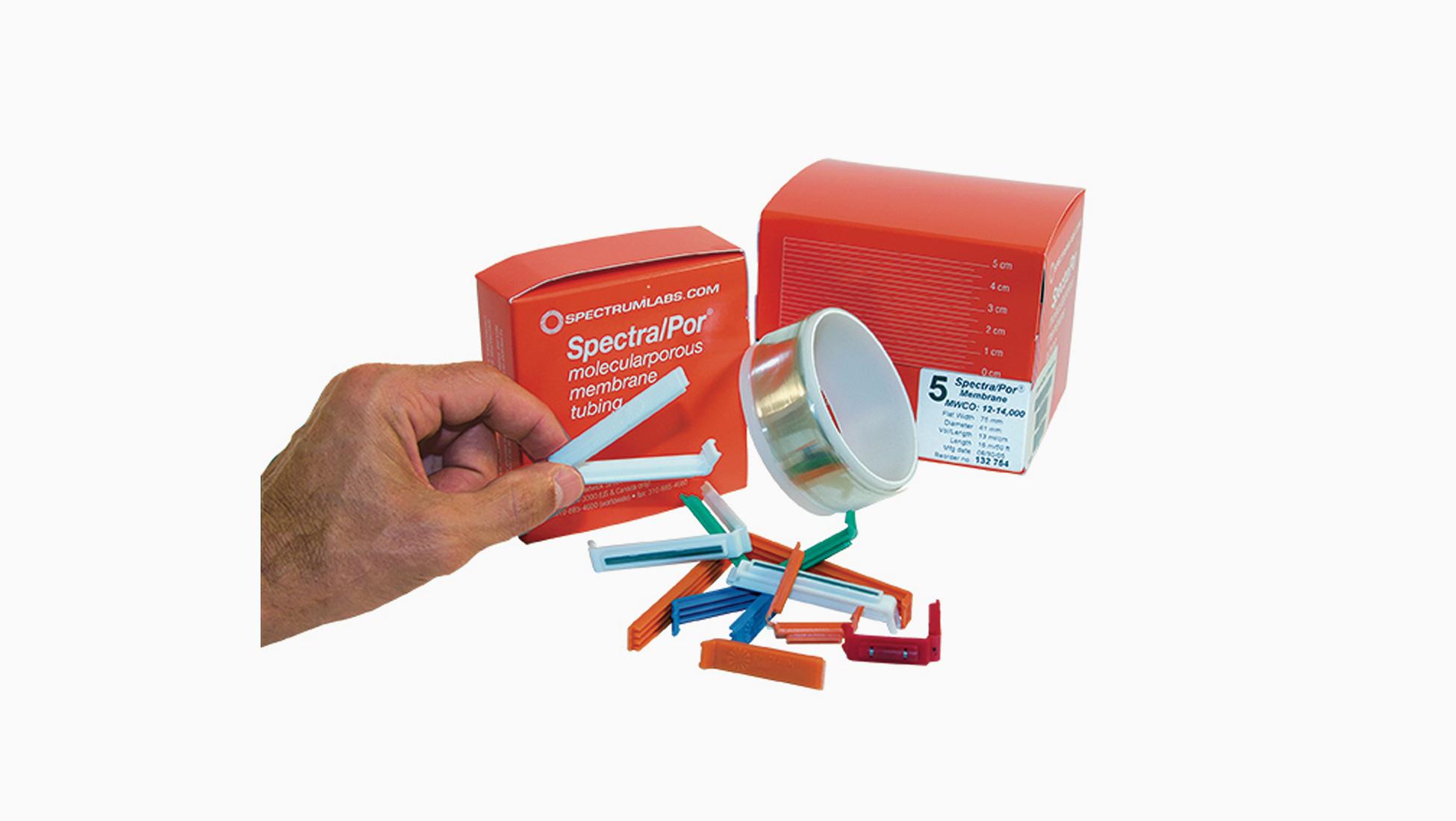 SpectraPor® — Tubing closures